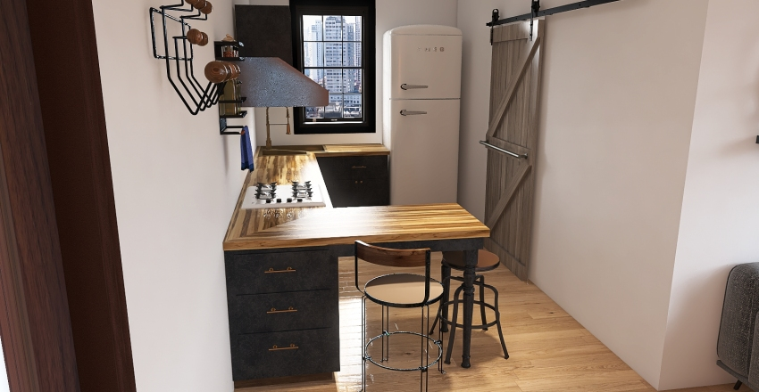 My Tiny House Interior Design Render