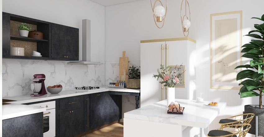 city home Interior Design Render