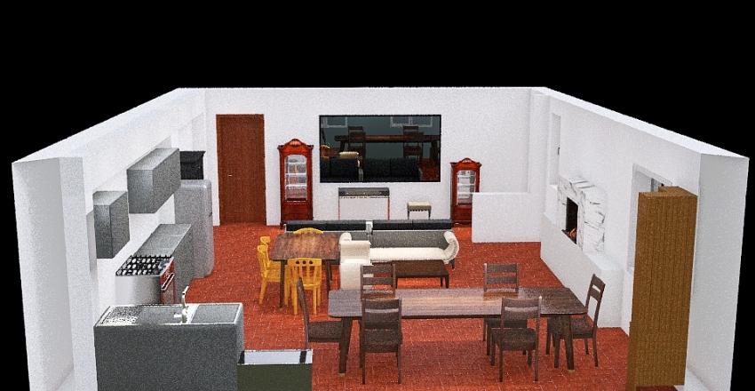 Modifica 1 Interior Design Render