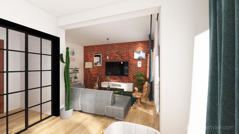Apartament 1 c Interior Design Render