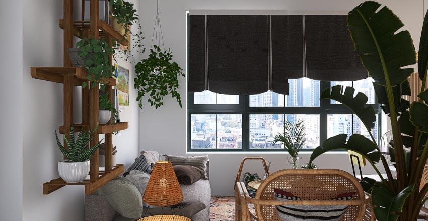 POI Interior Design Render