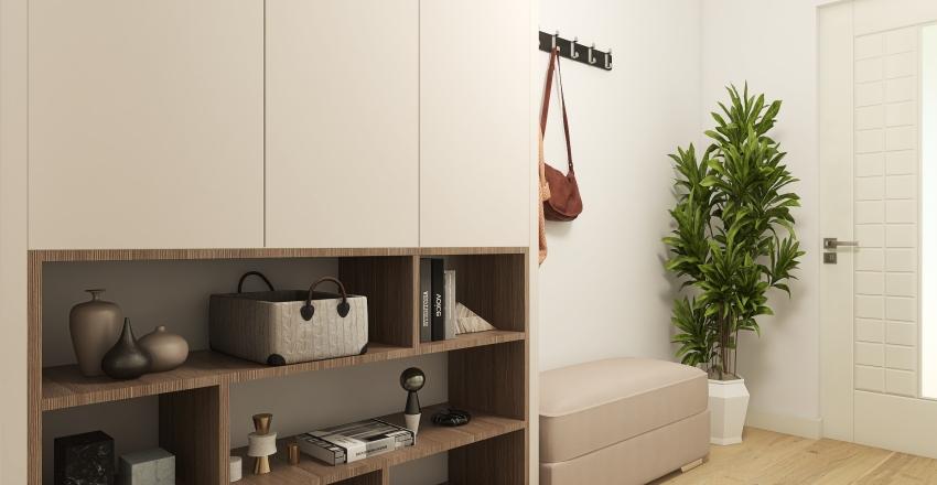 Contemporary Family House Interior Design Render