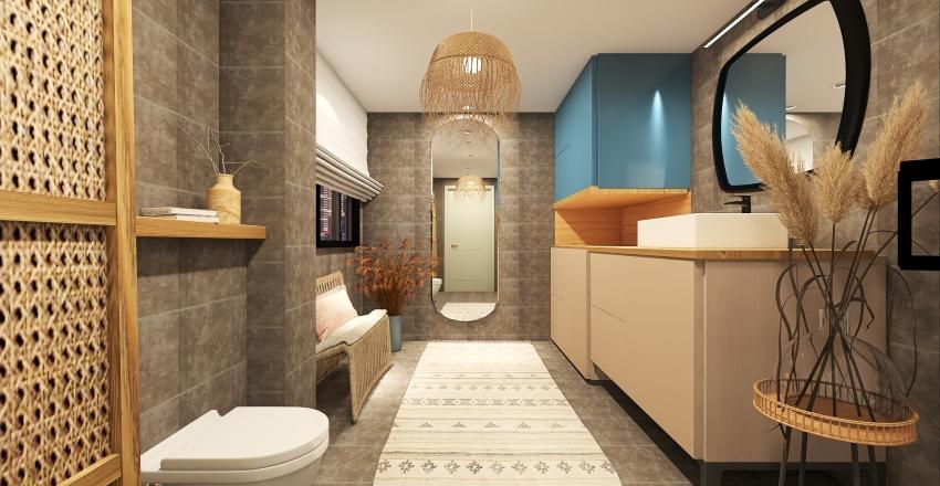 SMR Bathroom Interior Design Render