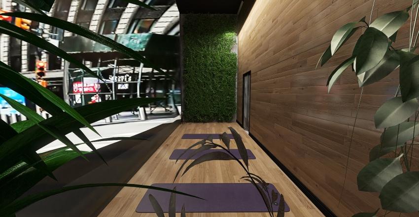 HERMES- High End Industrial Sport Shop Interior Design Render