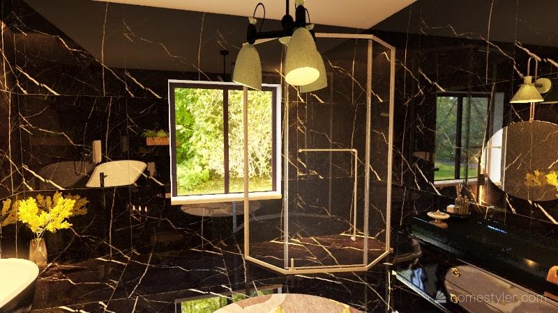 Copy of حمام Interior Design Render