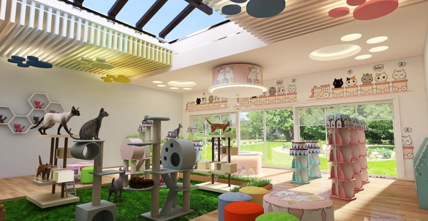 Cat's Haven Interior Design Render