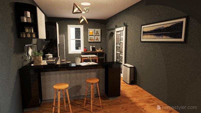 Little Cloquet River Interior Design Render