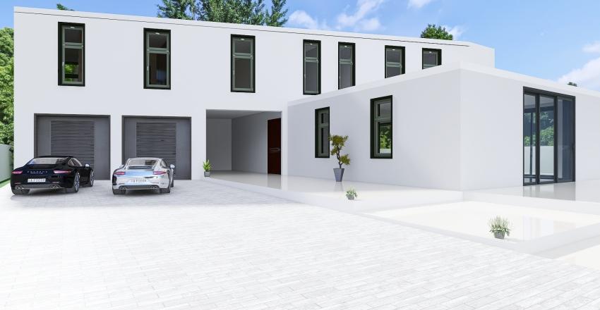 Villa Aris Interior Design Render