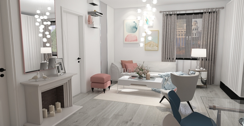 Pinky 2 Interior Design Render