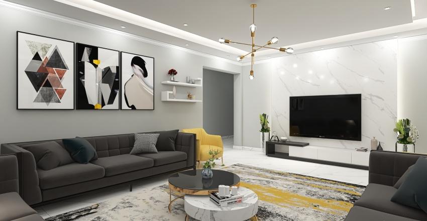 alkothery living 02 Interior Design Render