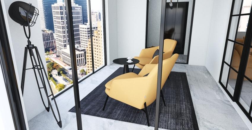 #4 Loft Interior Design Render
