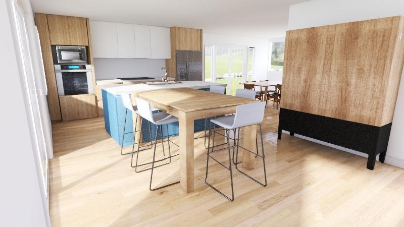 Kitchen Design 1 Interior Design Render