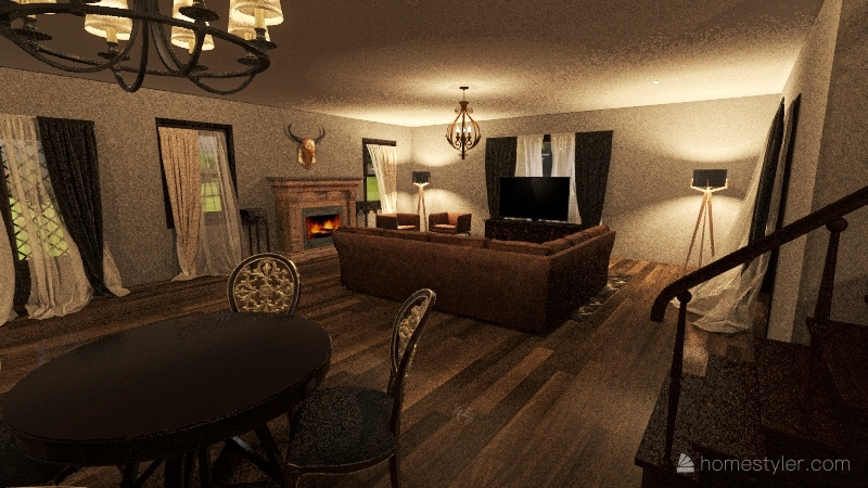 Kniss Ave Interior Design Render