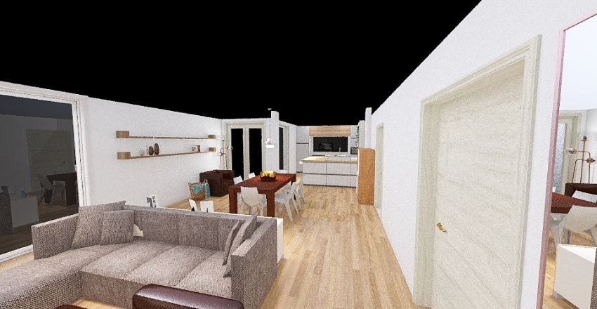 Salotto 5 Interior Design Render