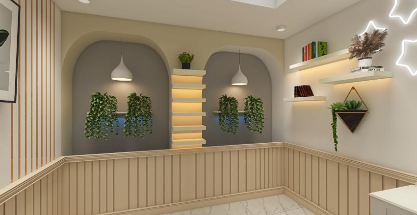 massage and treatment room . Interior Design Render