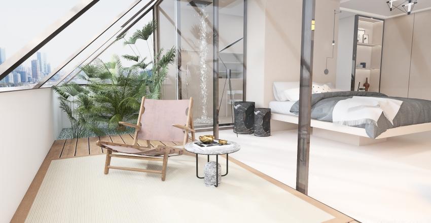 Dormitorio #Minimalista Interior Design Render