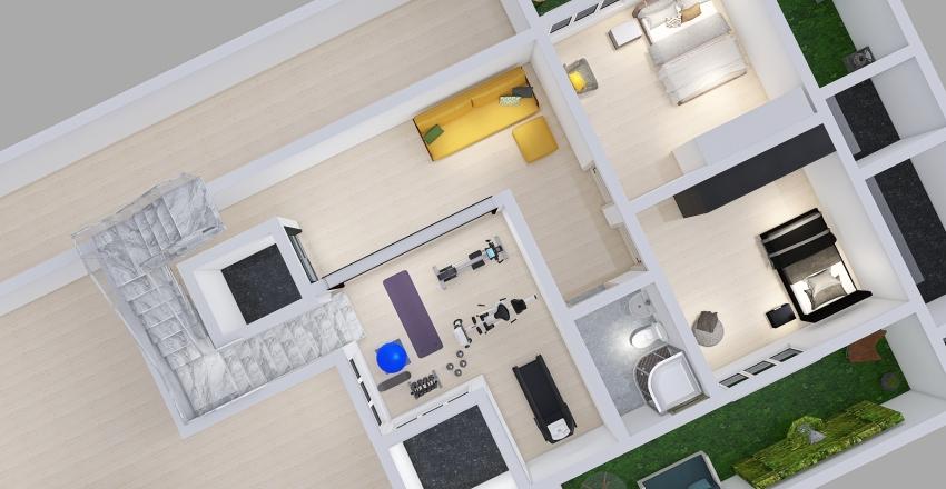 3rd floor Interior Design Render