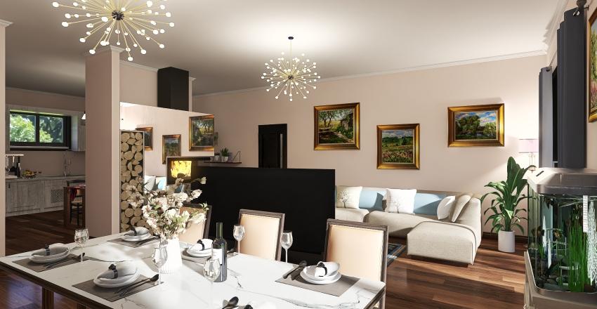 Villa Oscar 130 Interior Design Render