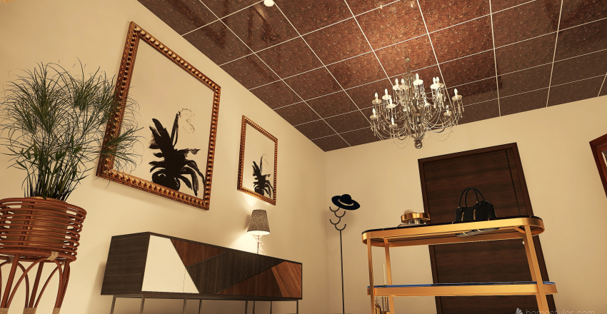 Autumn Leaves-SpaceAndTimeContinuum Interior Design Render