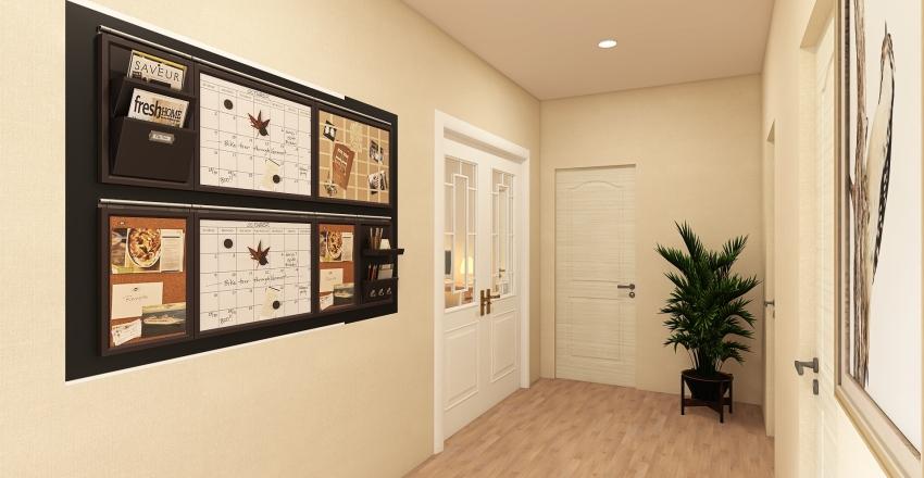 Mediterranean Vacation House Interior Design Render