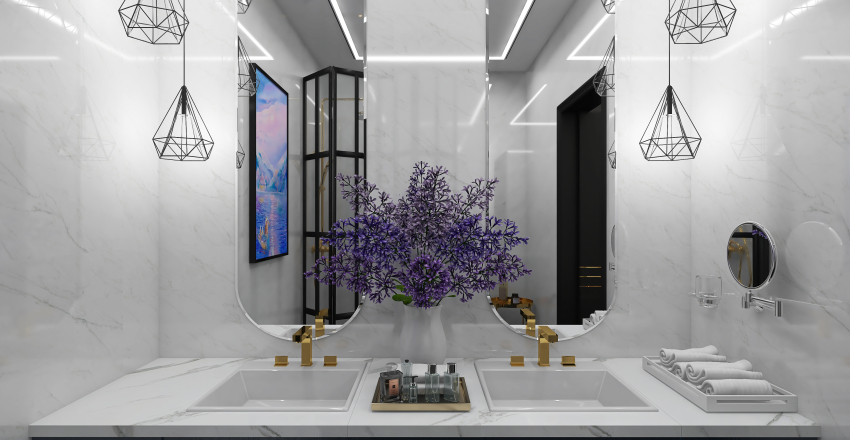Type B - Double Twin Interior Design Render