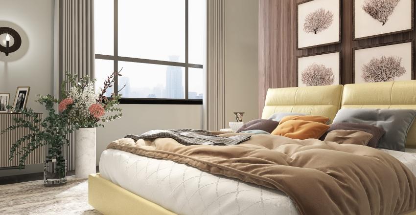 Pantone Color of the Year/ Modern Interior Design Render