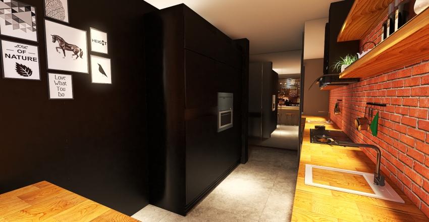 asia Interior Design Render