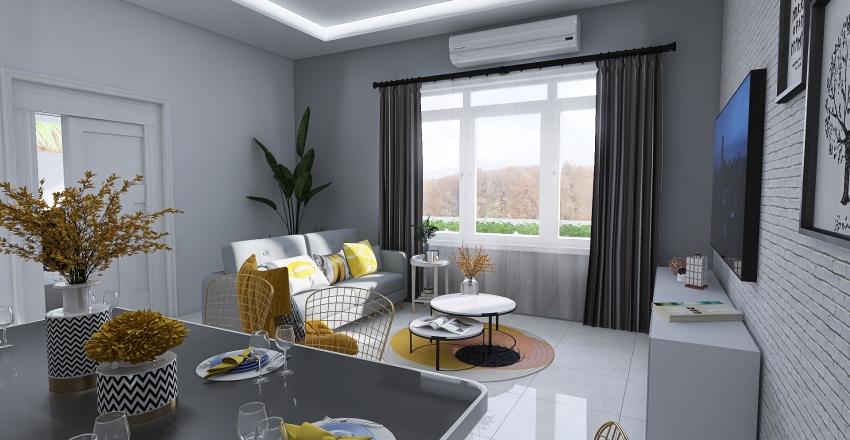 96 sqm house design Interior Design Render