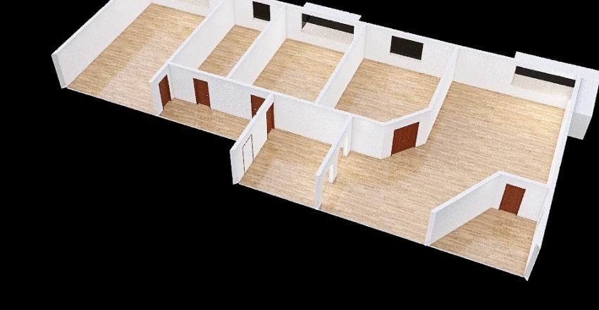 Soluzione 1 Tris Interior Design Render