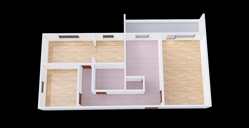Leborska 133 Interior Design Render