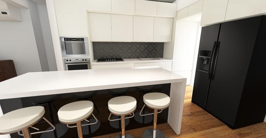 Cocina Sudamericana (Sudamerican Kitchen) Interior Design Render