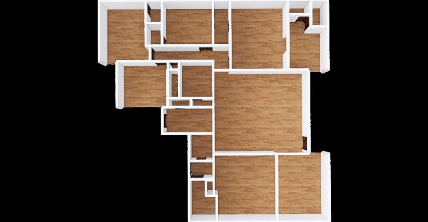 Radcliffe Original Interior Design Render