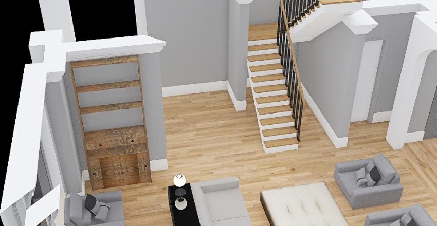 3728 main floor Interior Design Render