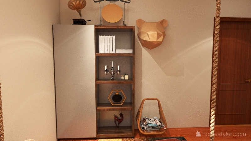 normal house Interior Design Render