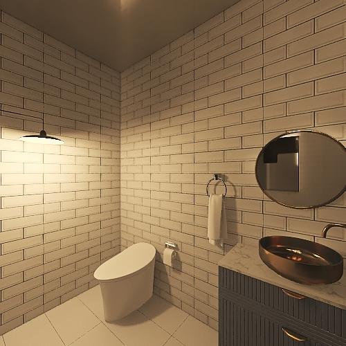 My first apartment- loft Interior Design Render