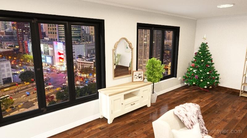 Copy of living room Interior Design Render