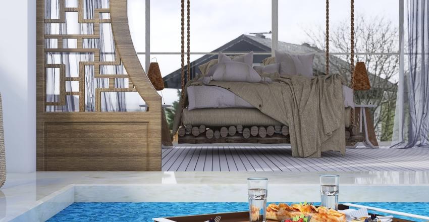 Cabin escape Interior Design Render