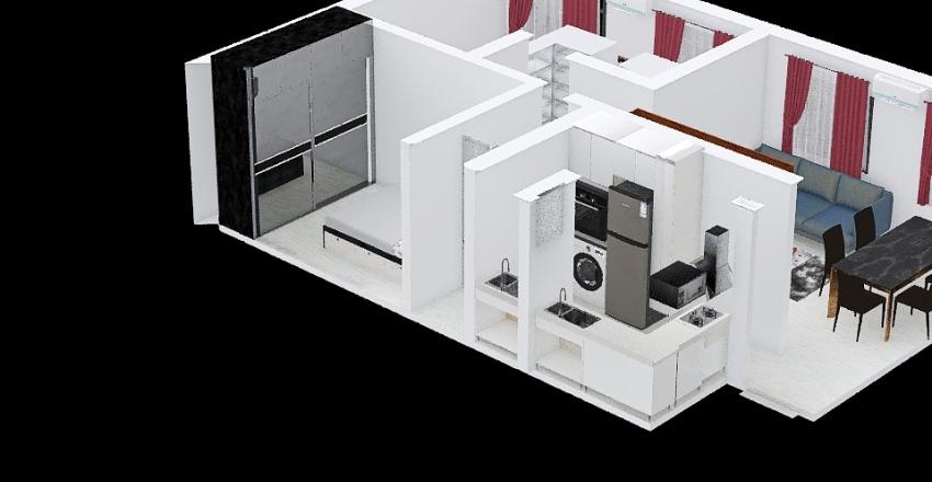 Copy of Copy of Apê 13 Interior Design Render