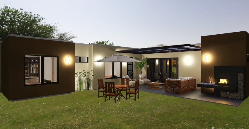 Copy of Casa Espinal Sotaquira Interior Design Render