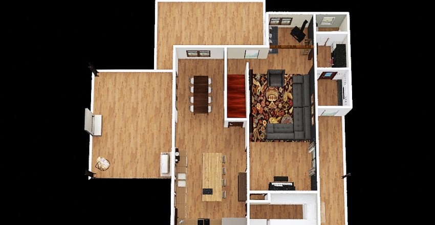 Redesign NE kitchen Interior Design Render