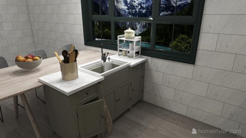 cocinavverde Interior Design Render