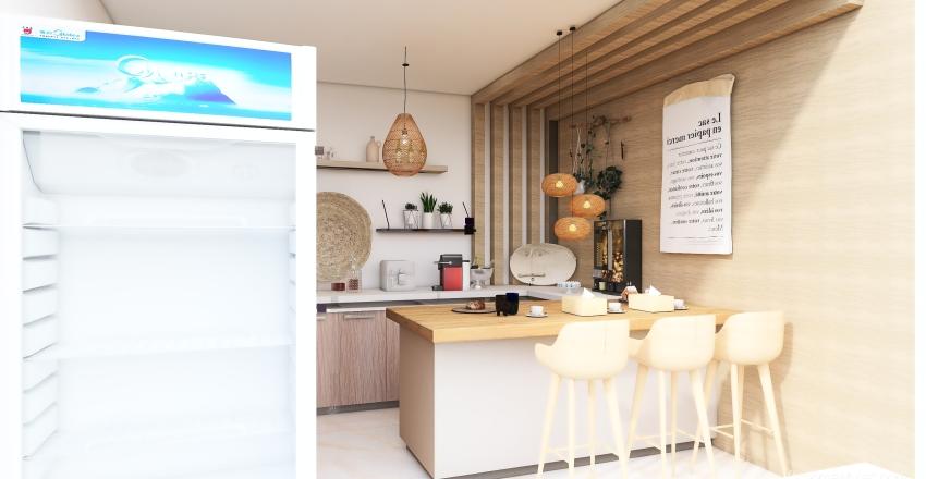 cofe 5 Interior Design Render