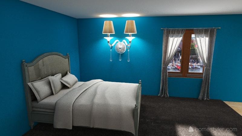 Little cottage Interior Design Render