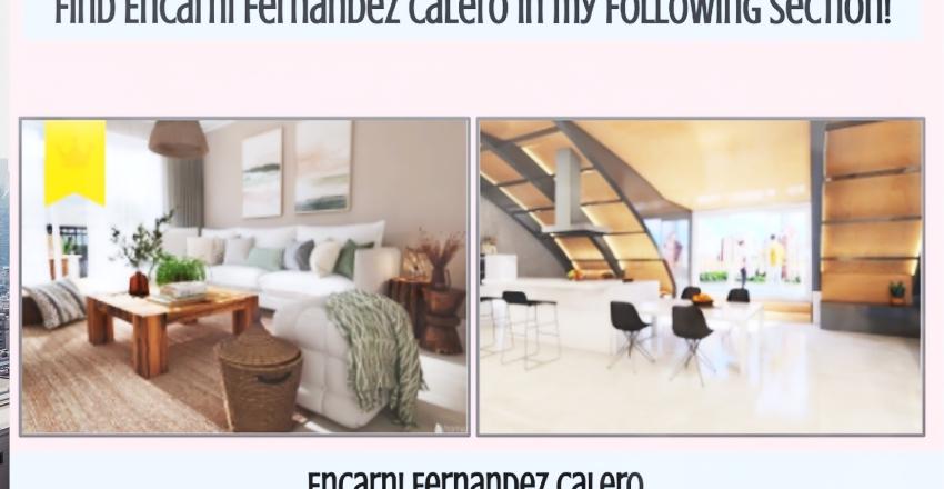 Encarni Fernandez Calero Interior Design Render