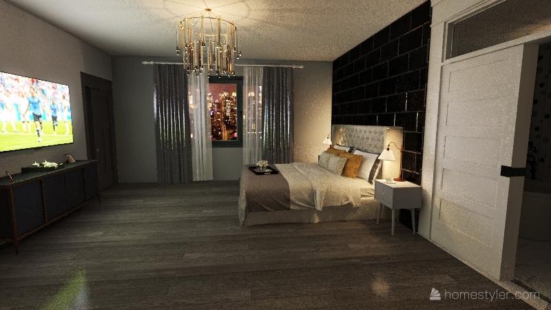 Adams Condo Interior Design Render