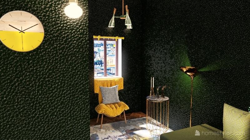 بيت عثمام Interior Design Render