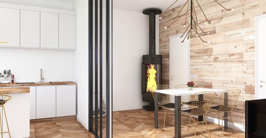 Rural house in Costa Brava Interior Design Render