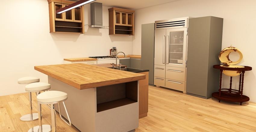 Gonzalez Condo Interior Design Render