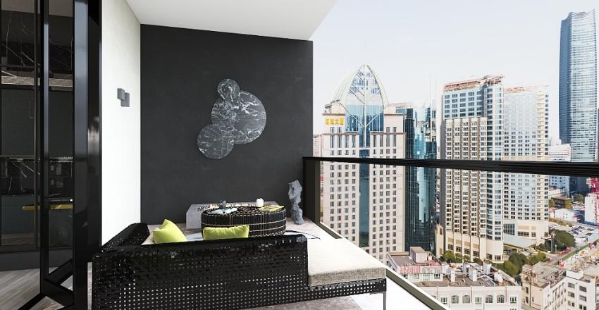 Penthouse 221 Interior Design Render