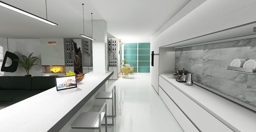 apartment for a happy life Interior Design Render